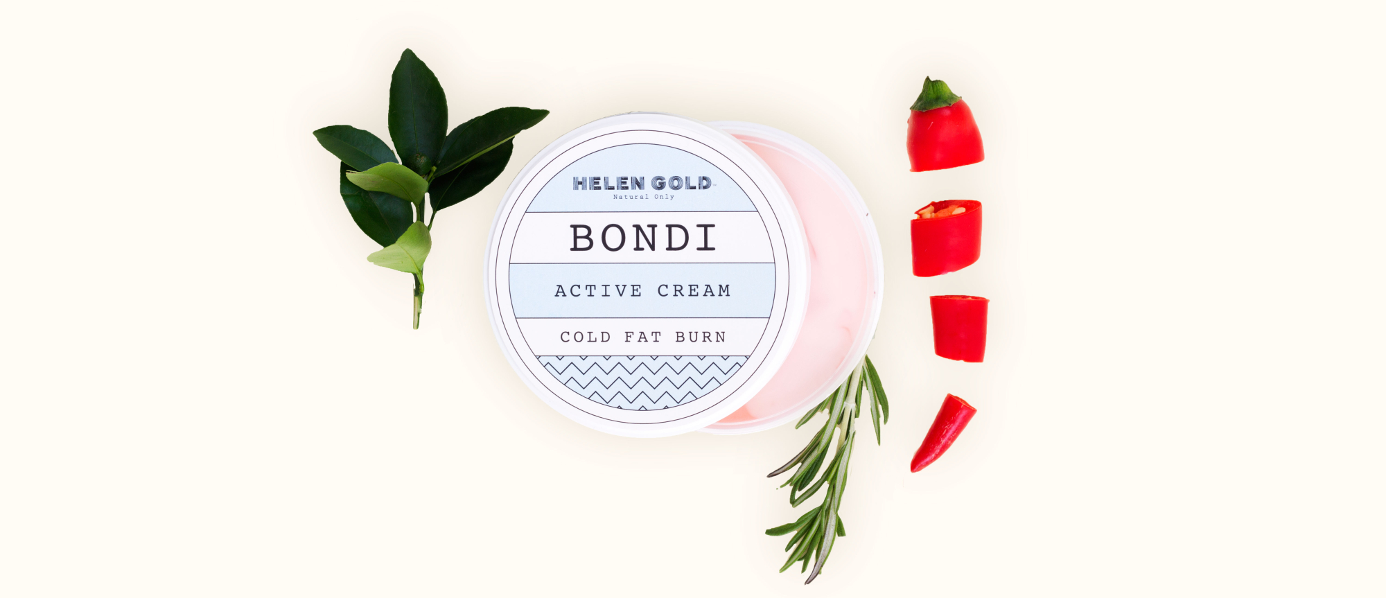 Средства для тела Cold Fat Burn Active Cream серии Bondi от Helen Gold, аромат - , 200 г